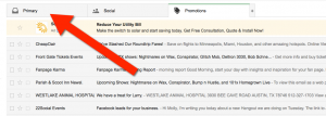 Email via gmail