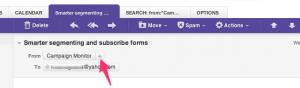 Email Via Yahoo